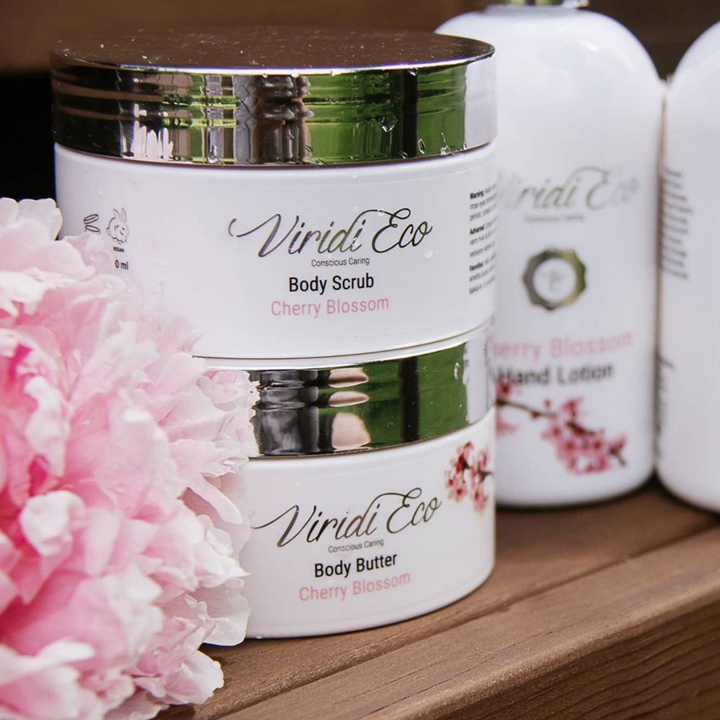 Viridi-eco-body-butter-conscious-caring-cherry-blossom-nordic-natural-beauty-awards-nominee
